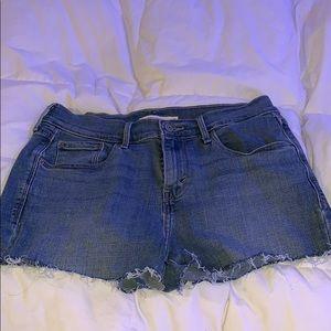 levi shorts size 6